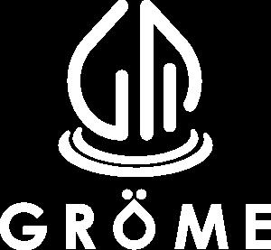 Gröme Logo - weiß